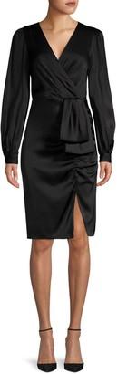 Sachin + Babi V-Neck Faux Wrap Dress