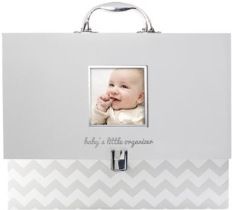 Pearhead Baby File Keeper Organizer, Gray