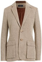 Polo Ralph Lauren Herringbone Single-Breasted Blazer