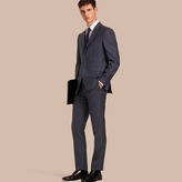 Burberry Modern Fit Wool Half-canvas Suit