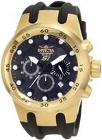 Invicta Men's S1 Chronograph INV-1509 Polyurethane Quartz Watch with Dial