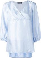Twin-Set v-neck blouse - women - Silk/Cotton - L