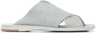 Officine Creative Crossover Strap Flat Sandals