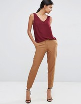 Asos Premium Textured Slim Pants