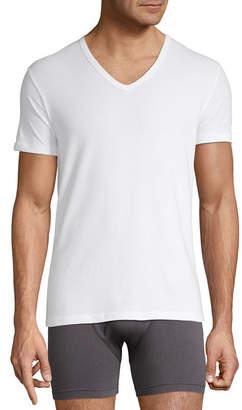 Stafford 3-PK. V-Neck T-Shirts Slim Fit