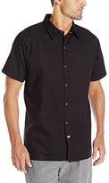Dickies Men's No Pocket Snap Button Cook Shirt