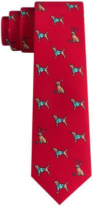 Tommy Hilfiger Holiday Puppy Tie
