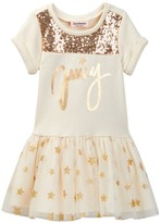 Juicy Couture Star Sweatshirt Dress (Toddler Girls)