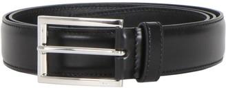 Prada Logo Metal Buckle Belt