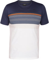 Hurley Men's Strands Cove Striped T-Shirt