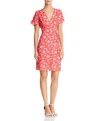 French Connection Frances Faux-Wrap Floral Dress