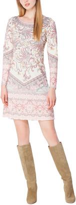 Hale Bob Boat Neck Mini Dress