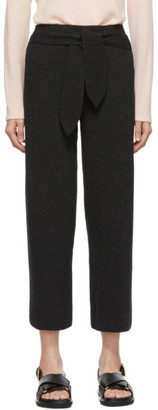 Nanushka Grey Knit Belt Lounge Pants