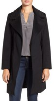 Ellen Tracy Women's Belted Wool Blend Wrap Coat