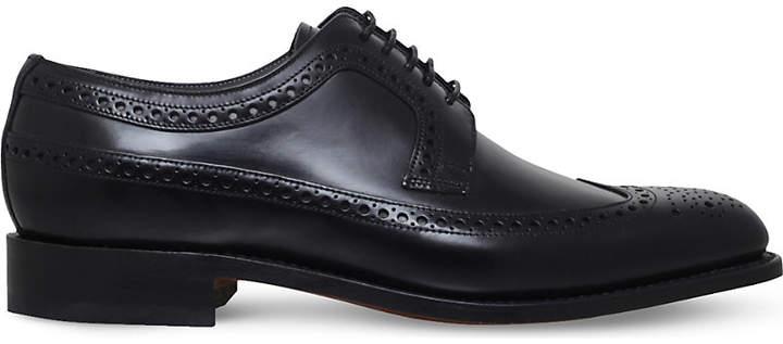 Barker Woodbridge leather derby shoes