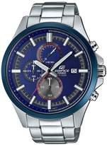Edifice Blue Multi Dial Stainless Steel Bracelet Mens Watch