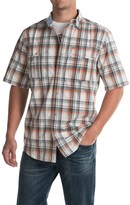 Carhartt Bozeman Snap-Front Poplin Shirt - Short Sleeve, Factory Seconds (For Men)