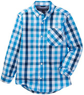 Tommy Hilfiger Melvin Plaid Shirt (Big Boys)