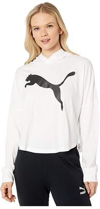 Puma Modern Sports Cover-Up White) Women's T Shirt