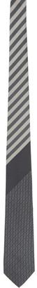 Fendi Grey Silk Forever Tie