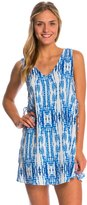 Lucy-Love Lucy Love Stairway to Heaven Tie Side Dress 8144479