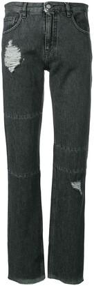 MM6 MAISON MARGIELA Distressed Slim-Fit Jeans