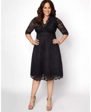 Kiyonna Women's Plus Size Mademoiselle Lace Dress