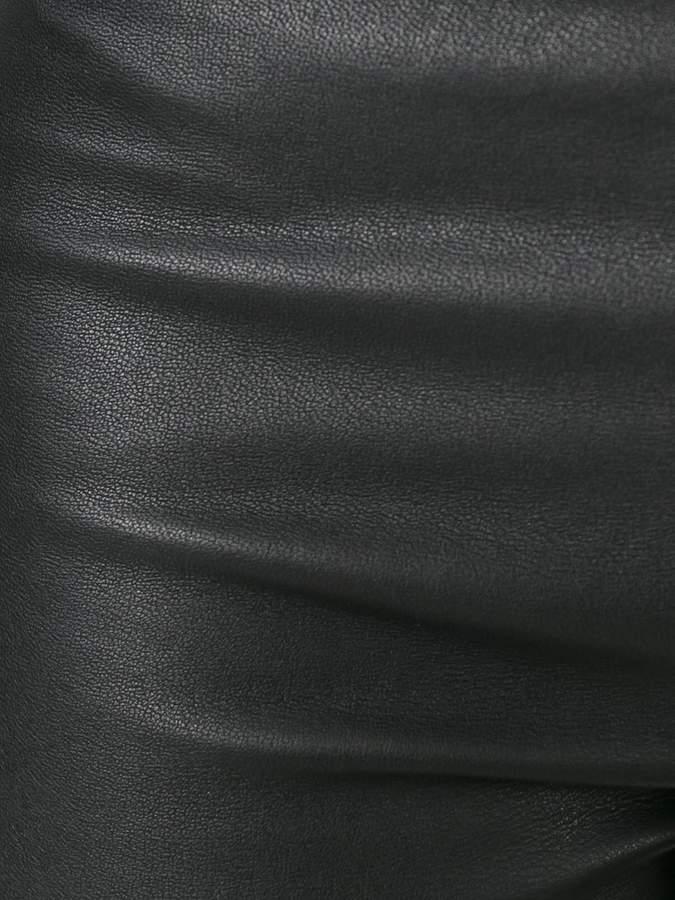 Neil Barrett leather leggings