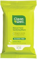 CleanWell Hand Sanitizer Wipes, Pocket Pack - 10 ct