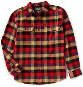 Woolrich Oxbow Flannel Check Long-Sleeve Woven Shirt