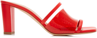 Malone Souliers Demi PVC and Leather Sandals