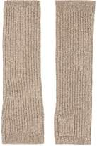 Barneys New York WOMEN'S RIB-KNIT CASHMERE ARM WARMERS