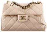Chanel Authentic Flap Bag With Handle Item A93442 Y60747 2B568 Made in France