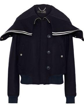 Rag & Bone Kingston Wool-blend Felt Bomber Jacket