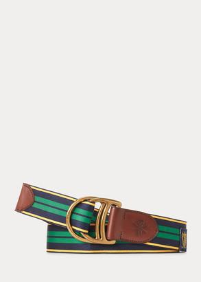 Ralph Lauren Equestrian Grosgrain Belt