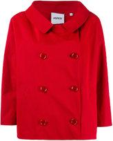 Aspesi short double-breasted coat