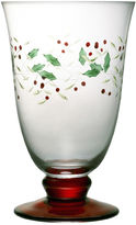 Pfaltzgraff Winterberry Set of 4 Iced Beverage Goblets