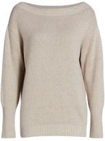 Brunello Cucinelli Cashmere & Lurex Knit Sweater