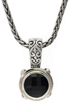 Effy Balissima 18K Yellow Gold and Sterling Silver Onyx Pendant