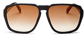 Givenchy Men's Mirrored Square Sunglasses, 55mm