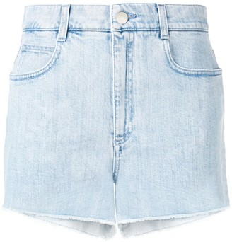 Stella McCartney All is Love denim shorts