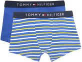 Tommy Hilfiger Boys Solid and Stripe 2 Pack Underwear