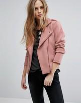 Vila Jersey Biker Jacket
