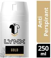 Lynx Gold Anti-Perspirant Spray 250ml