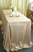 Dream 60''102'' Rectangle Sparkly Sequin Glamorous Cloth/fabric for Wedding/dessert Table