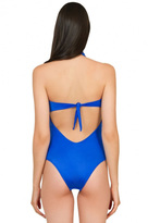 Caffe Swimwear - Multiple String One Piece In Bright Blue