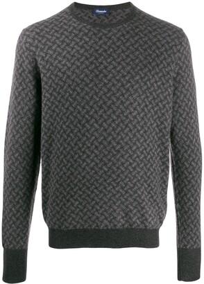 Drumohr crew-neck cashmere sweater