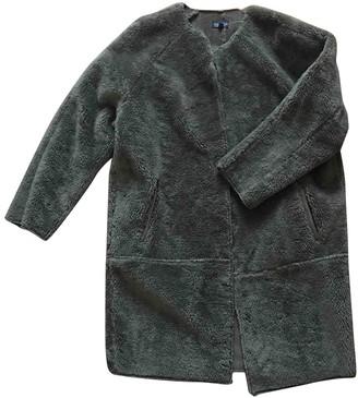 Topshop Tophop Khaki Coat for Women