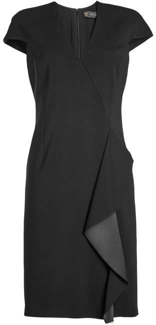 Versace Dress with Ruffled Trim