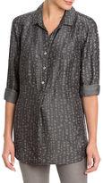 Nic+Zoe Printed Long Sleeve Shirt